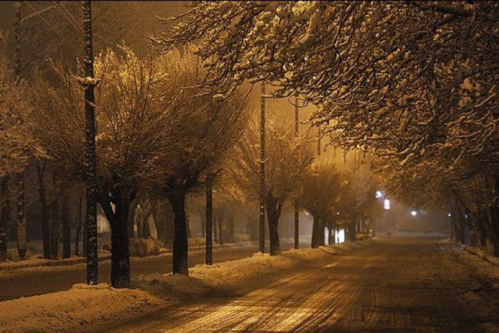 """خاطرات برف بازی در """"تهران در شب"""""""