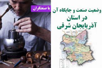 وضعیت صنعت و جایگاه آن در استان آذربایجان شرقی