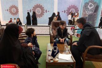 حضور استاد رحیم خاکی در کارگاه تلاوت رادیو قرآن/ مصلی تهران