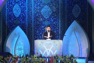 تلاوت افتخاری مختار دهقان در دومین روز سی و پنجمین دوره مسابقات بین المللی قرآن کریم