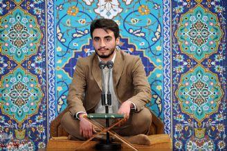 تلاوت سیدمصطفی حسینی در دیدار با مقام معظم رهبری
