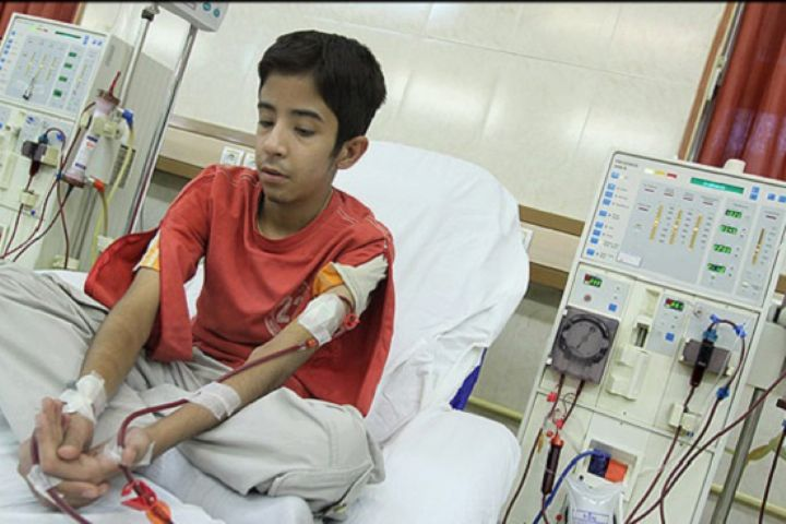خیال تخت بیماران دیالیزی در مناطق زلزله زده