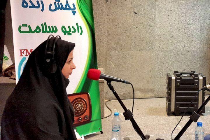 """رادیو سلامت با برنامه """"کارنامه"""" برگزیده مسابقه بهار چهل سالگی انقلاب اسلامی"""