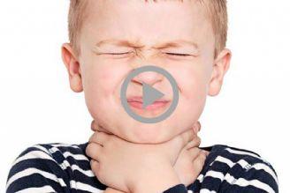علل شایع گلودرد در کودکان