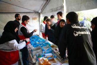 ارائه خدمات پزشکی به زائران اربعین حسینی