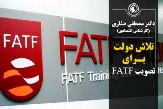 تلاش دولت برای تصویب FATF