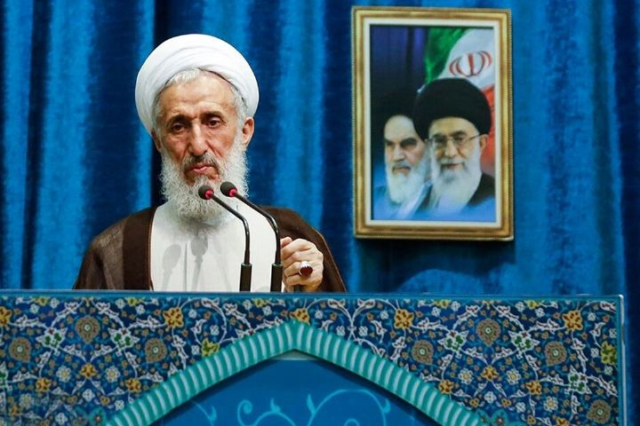 پخش سخنرانی زنده آیت الله صدیقی از رادیو تهران