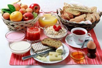 مواد غذایی مناسب در وعده صبحانه