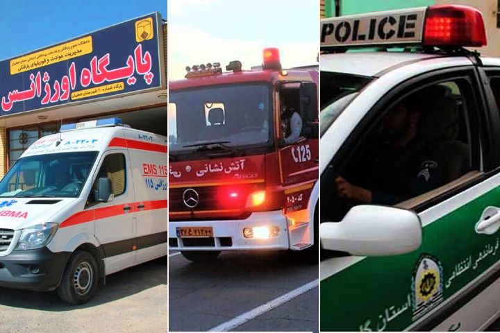 """ارزیابی عملكرد سامانه های 110، 115 و 125 توسط مخاطبان """"تهران تو"""""""
