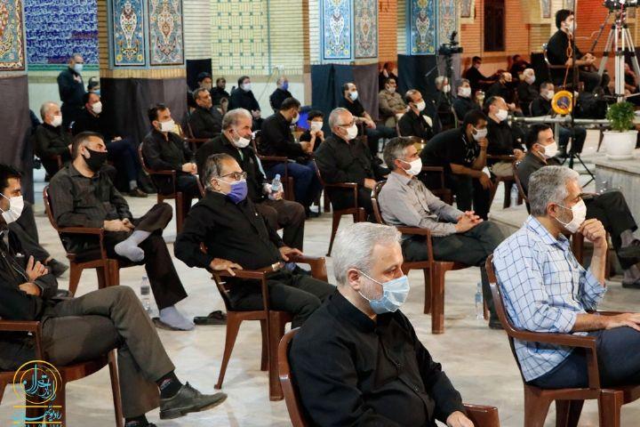 عزاداری شب چهارم محرم در حسینیه هوافضای چیتگر