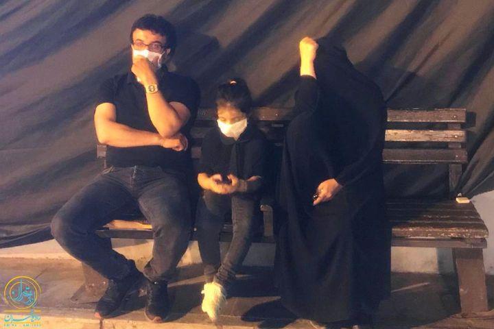عزاداری شب چهارم محرم در فرهنگسرای عترت/ میدان امام حسین(ع)