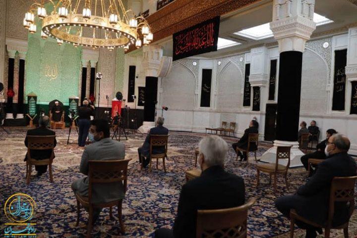 عزاداری شب تاسوعا در مسجد حضرت رسول(ص)