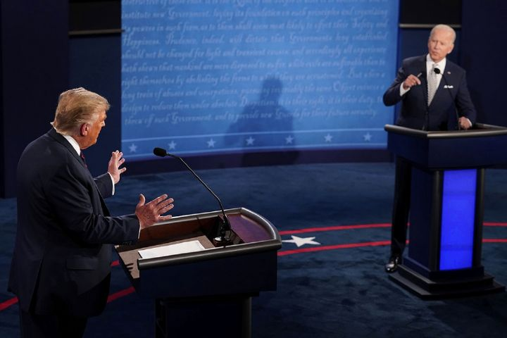 مناظره رقبای انتخاباتی آمریکا، چهره واقعی این کشور را نشان داد