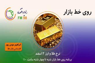 نرخ طلا و ارز 2 اسفند ماه