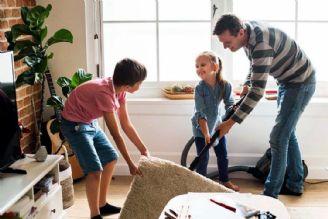 راهكارهای برای تقویت همیاری در خانه تكانی