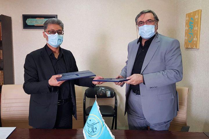 امضاء تفاهم نامه رادیو تهران و دانشگاه شهید بهشتی