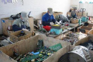 بازیافت و خطرات زیست محیطی زبالههای الكترونیكی