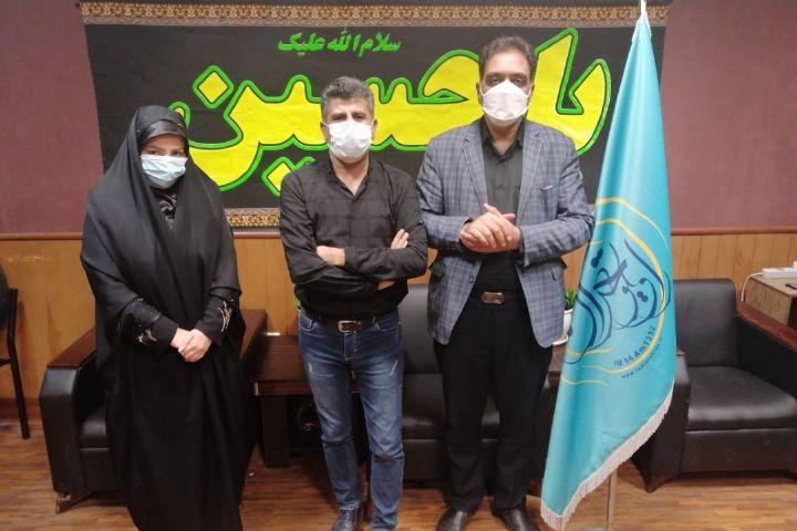 ساناز باقری: سوگواره محرم در حسینیه رادیویی رادیو تهران برپاست...