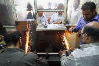 آشنایی با تكنیكهای تیزكردن چاقو در گفتگو با چاقو تیزكن قدیمی بازار تهران