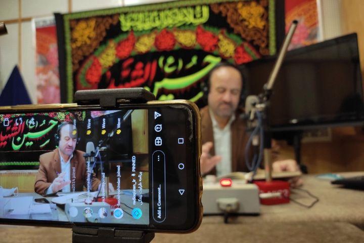 تصاویری از استودیو پخش برنامه طراوت زندگی