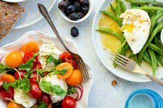 اصول تغذیه سالم (تنوع غذایی، تازه خوری و تحرك) است