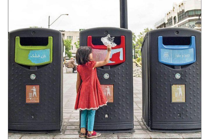 به زودی برای جمع آوری پسماند شهر تهران از مخازن هوشمند استفاده خواهد شد+فایل صوتی