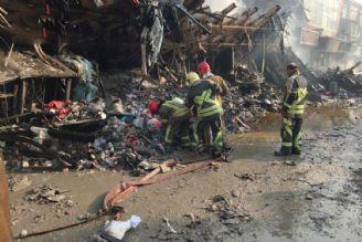 16 آتش نشان مفقود شده اند/ برای هویت شهدا از دی ان ای بهره می گیریم