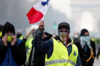 تب جلیقه زردها با نزدیكی به انتخابات فرانسه بالا می گیرد