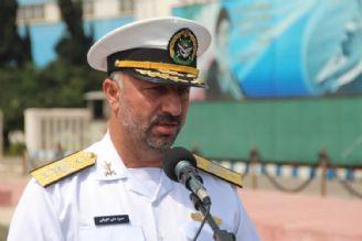 الحاق ناو شكن مدرن «دنا» به ناوگان دریایی ارتش جمهوری اسلامی ایران