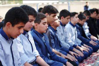 برپایی نماز جماعت در 70 هزار مدرسه