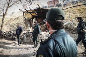 پاكسازی دره فرحزاد از معتادان متجاهر با احداث باغ راه