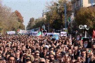 برگزاری تظاهرات ضد آمریكایی در بیش از هزار و 200 نقطه كشور