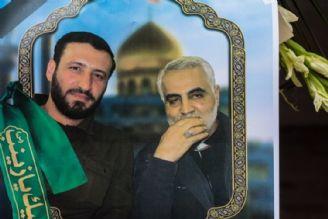 شهید هادی طارمی در بهشت زهرا(س) آرام گرفت