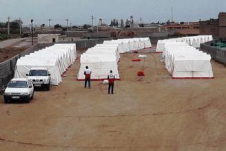 اسكان 3500 خانوار در مجموعه اردوگاه های اضطراری