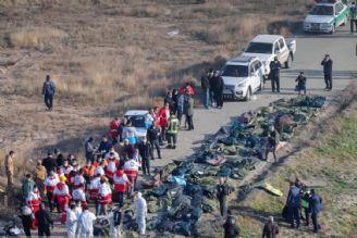 پیكر 61 نفر از جانباختگان هواپیمای اوكراین آماده تحویل به خانوادههایشان