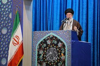 رهبرانقلاب در خطبههای نمازجمعه تهران: جنتلمنهای مذاکره، همان تروریستهای فرودگاه بغداد هستند.