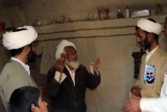 خدمت رسانی روحانیان در مناطق سیلزده سیستان و بلوچستان