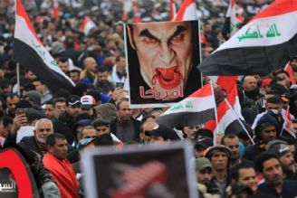 راهپیمایی عراقی ها نشانه خشم و نفرت از سیاستهای آمریكاست