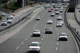 کاهش 59 درصدی تردد ها در جاده های کشور