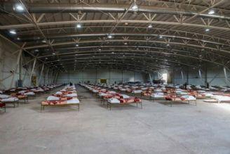 احداث بزرگترین نقاهتخانه در نمایشگاه بین المللی توسط ارتش