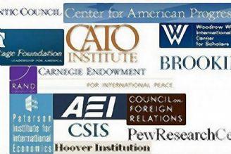 برخی از اندیشکدههای مطالعاتی در آمریکا به بازوی قدرتمند کشورهای خارجی در این کشور تبدیل شده اند