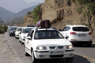 ترافیک جاده هراز سنگین و باقی جادههای شمالی روان است