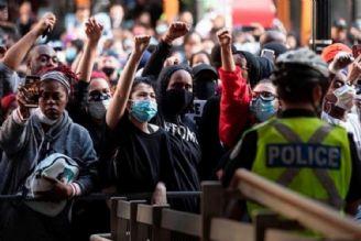 اعتراضات آمریکا علیه نظام حکومتی آمریکا است