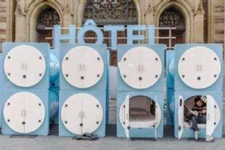 هتلهای كپسولی مناسب برای اقامتهای كمتر از 24ساعت