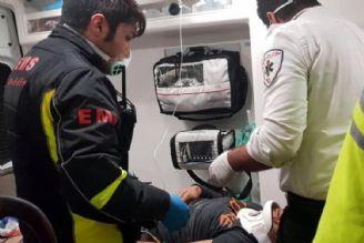 23 مصدوم و 2 کشته در تصادف اتوبوس در بزرگراه کرج-قزوین