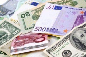 بر اساس اعلام بانک مرکزی افزایش نرخ رسمی پوند و کاهش قیمت یورو