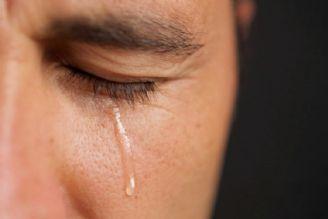 کرونا / اشک فرد مبتلا