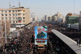 """تشییع پیکر """"شهیدسلیمانی"""" بالاترین بازدارندگی ملت دربرابر دشمن بود"""