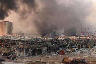 وقوع انفجار مهیب در بندر بیروت لبنان با دهها كشته و صدها زخمی