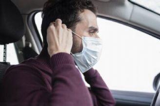 کرونا / استفاده از ماسک در خودرو